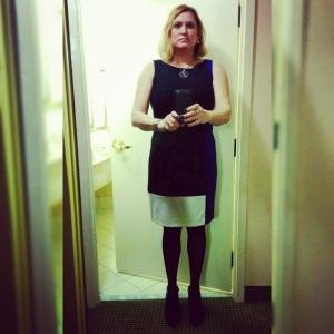 awkward hotel selfie
